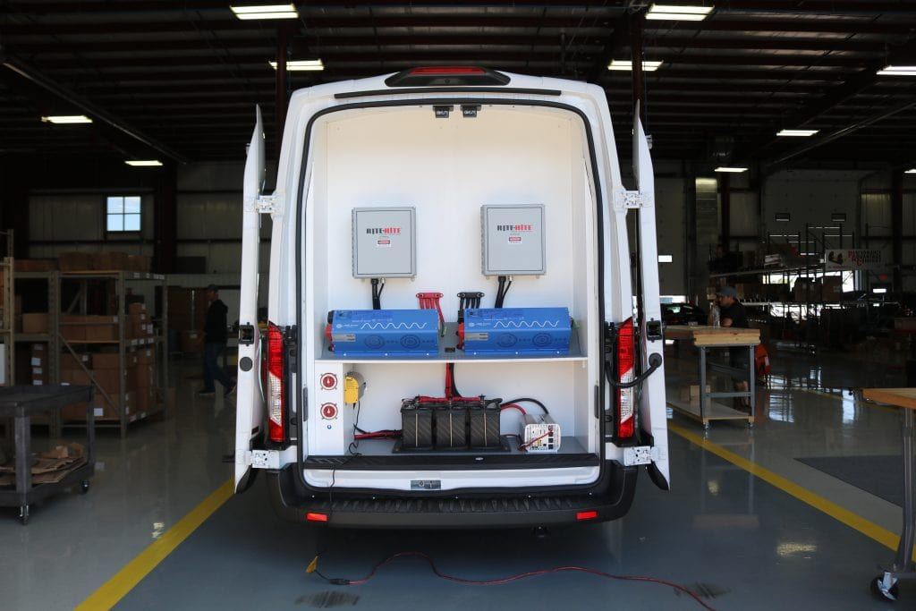 Commercial Van Upfitting